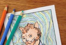 Vincent Van Cat - autoritratto