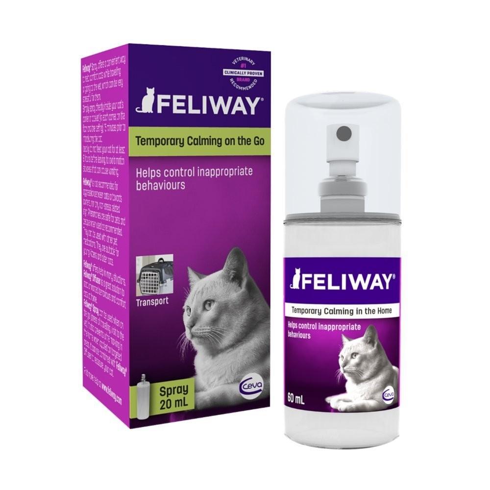 Spray Feliway per il viaggio